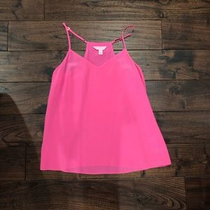 Lilly Pulitzer pink tank XS